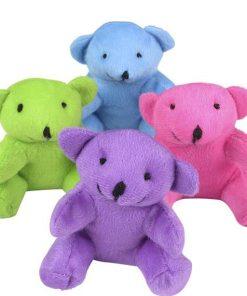 "4.5"" Neon Bear Plush"
