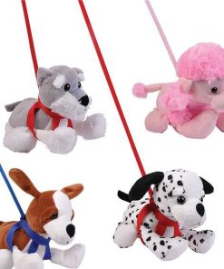 Plush On Leash