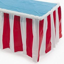 Carnival Table Skirting