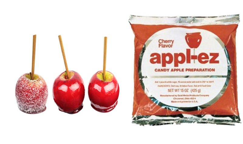 Candle Apple Mix