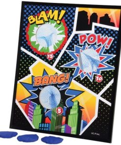 Superhero Bean Toss Carnival Game