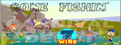 Gone Fishin Banner
