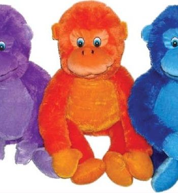 Furry Gorilla Plush