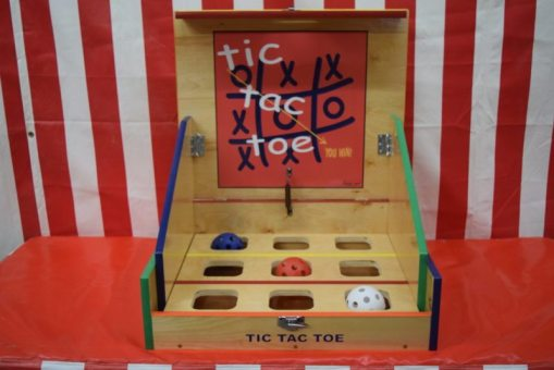 Tic Tac Toe Case Carnival Game