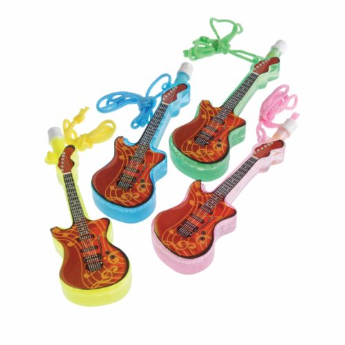 Guitar Bubble Necklaces