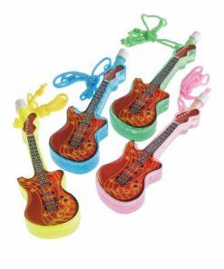 Guitar Bubble Necklaces