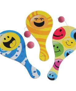 Smiley Face Paddle Balls Carnival Prize
