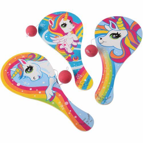 Unicorn Paddle Balls Carnival Prize