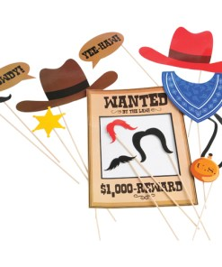 Cowboy Photo Booth Props