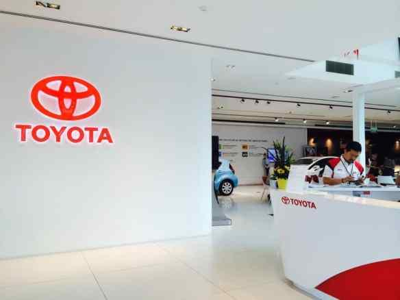 Toyota Showroom Event Management