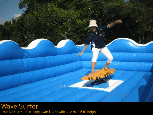 Inflatable-Wave-Surfer