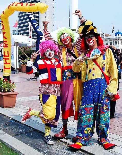 clowns singapore