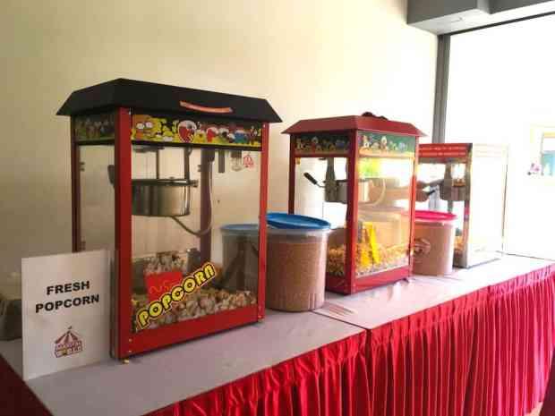 Professional Popcorn Machines for Rent