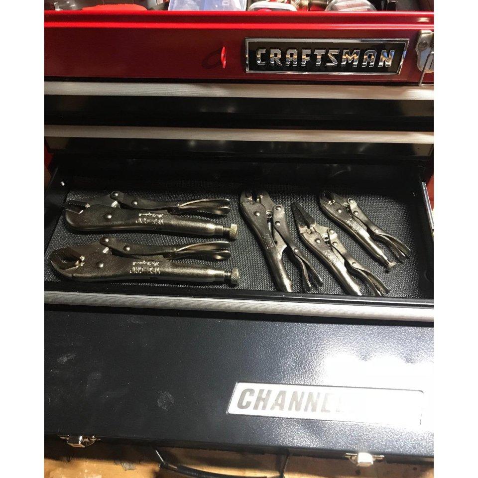 Craftsman 3-Drawer Metal Portable Chest Toolbox1