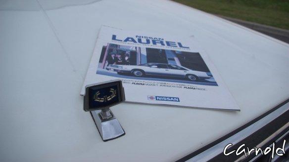 Nissan-Laurel-Medalist-hood ornament