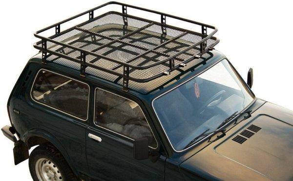 Багажник на Ниву, ВАЗ, Логан – монтаж на крышу авто своими ...