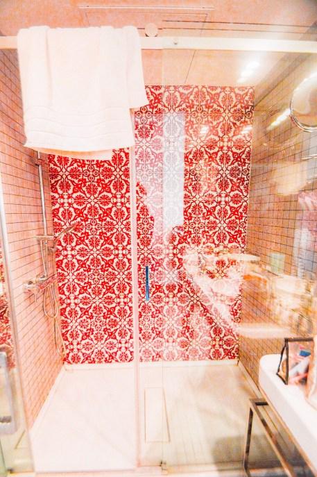 La douche oriental touch !