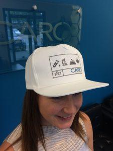 CARO Trucker Hats in limited edition bottle orders!