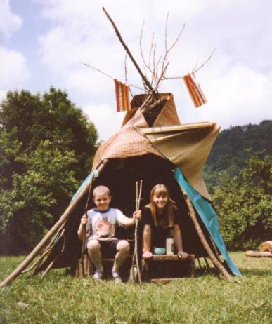 Caro 10 ans - camping à la ferme - Jura 001
