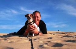 Dune Pilat avec son chien (35)