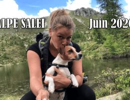 Alpe Salei avec son chien