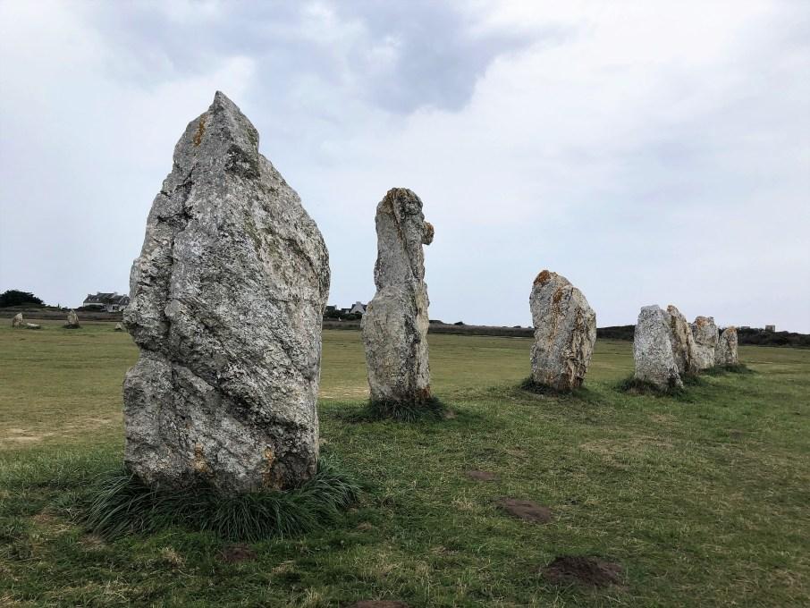 Mégalithes de Lagatjar Crozon menhir