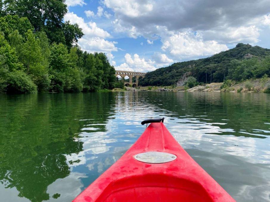 Visiter le Pont du Gard avec son chien