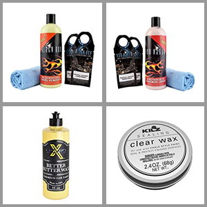 Best car wax for black cars in 2019 reviews and buyer's guide.