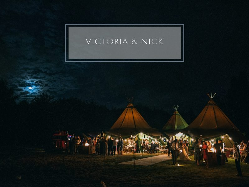 Tipi Forest wedding