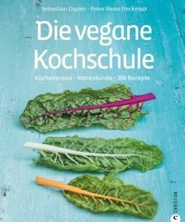 """""""Die vegane Kochschule"""" von Sebastian Copien. Über zwanzig Rezepte mit Miso-Paste finden sich darin. Ein Exemplar darf ich nun mein Eigen nennen. Bin schon sehr gespannt aufs Nachkochen."""