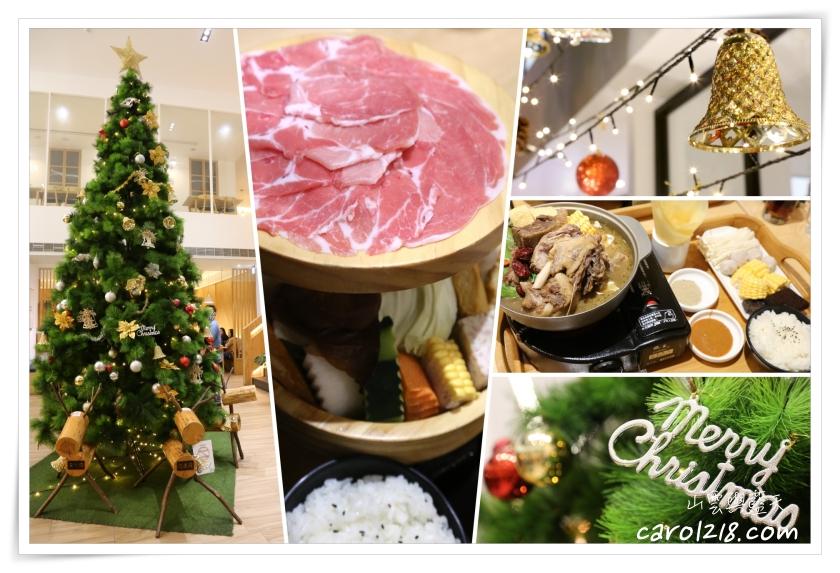 [台中]萌木之村~中科商圈可愛童趣餐廳,餐點有水準服務好,聖誕氣息濃厚