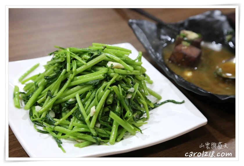 台南玉井,玉井川菜,玉井美食,空白餐館