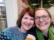 Zwei, die nicht nur das Alemannische verbindet: Uli Derndinger und ich