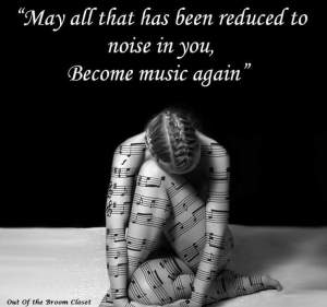 Noise in you to music again
