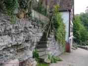 Schmale Treppe in Haigerloch