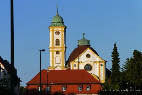 "Wallfahrtskirche ""Unseres Herrn Ruhe"" (c) Carola Peters"