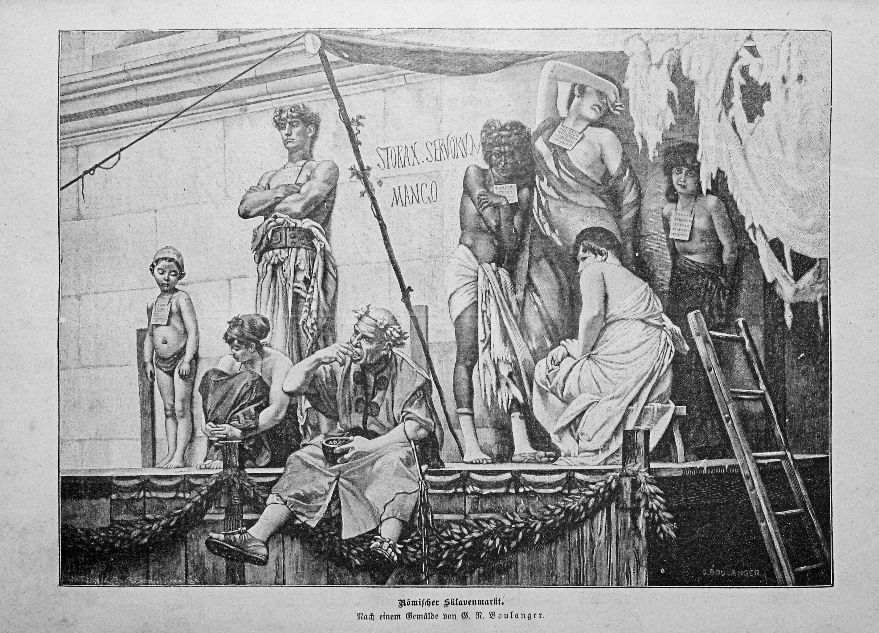 Slavery In The Early Roman Empire