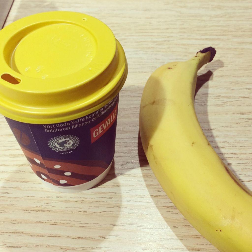 kaffe banan