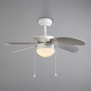 Takfl--kt-med-belysning--Fresh-30--Moderna-vit-metall---Passande-f--r-LED---Inomhus-