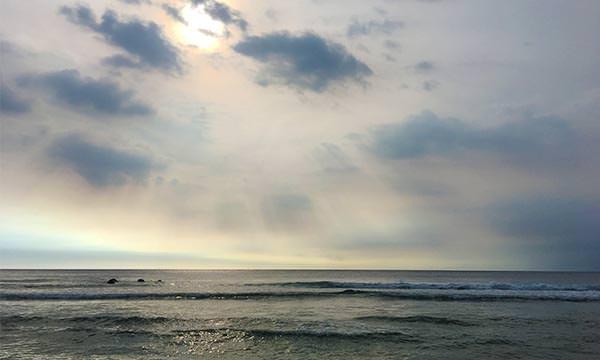 蛤板灣沙灘海景