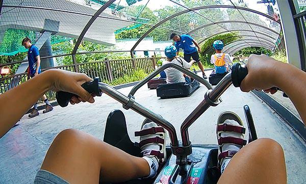 開始斜坡滑車前的教學時間
