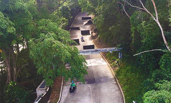 斜坡滑車跑道