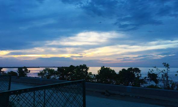 太平洋公園日出
