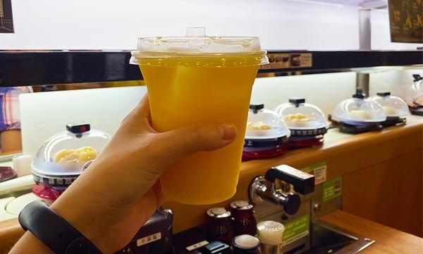 100%純柳橙汁
