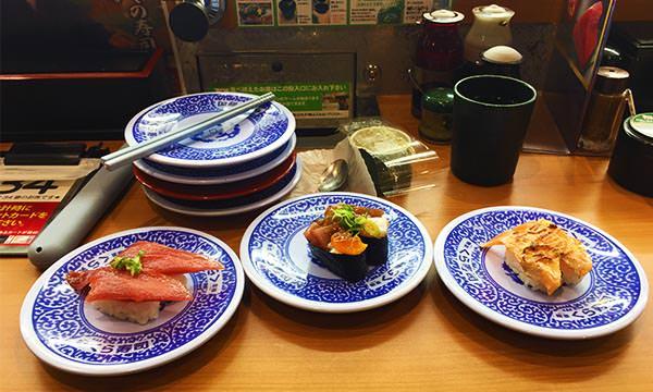 Read more about the article 【沖繩美食】那霸藏壽司古島駅店|100日圓的平價迴轉壽司