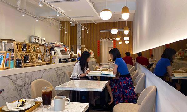 HOKA CAFE座位