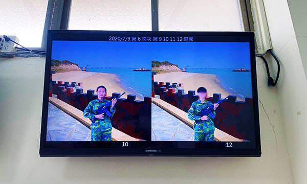 烈嶼模擬射擊照片