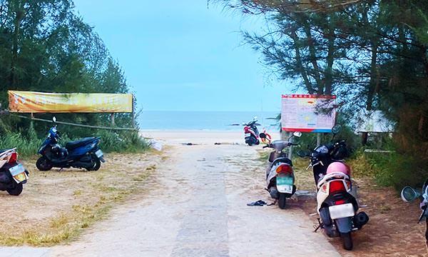 歐厝沙灘入口