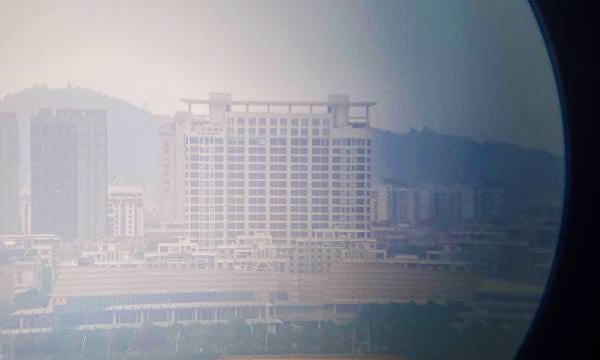 湖井頭戰史館望遠鏡