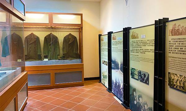 瓊林民防館展示品